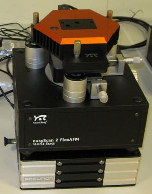 Picture of AFM, Nanosurf Flex