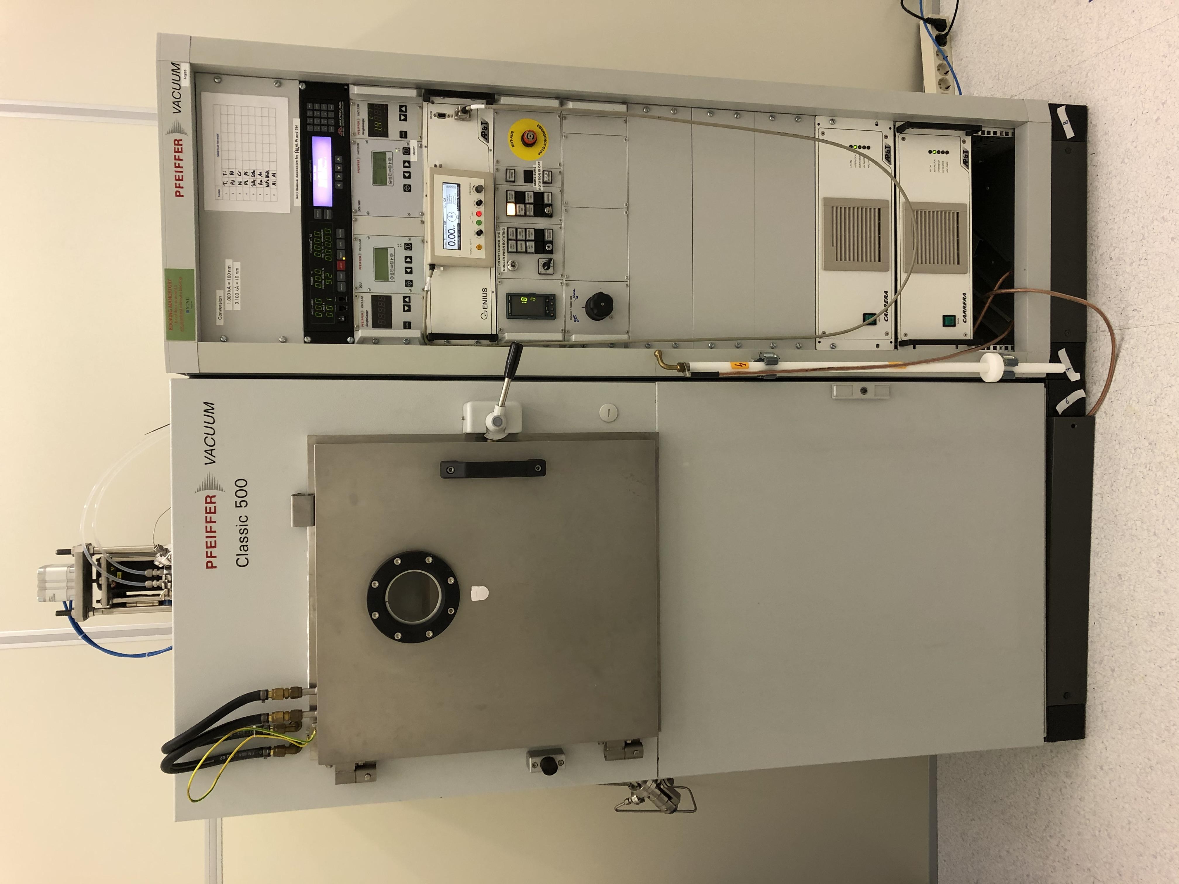 Picture of E-Beam Evaporator - Pfeiffer