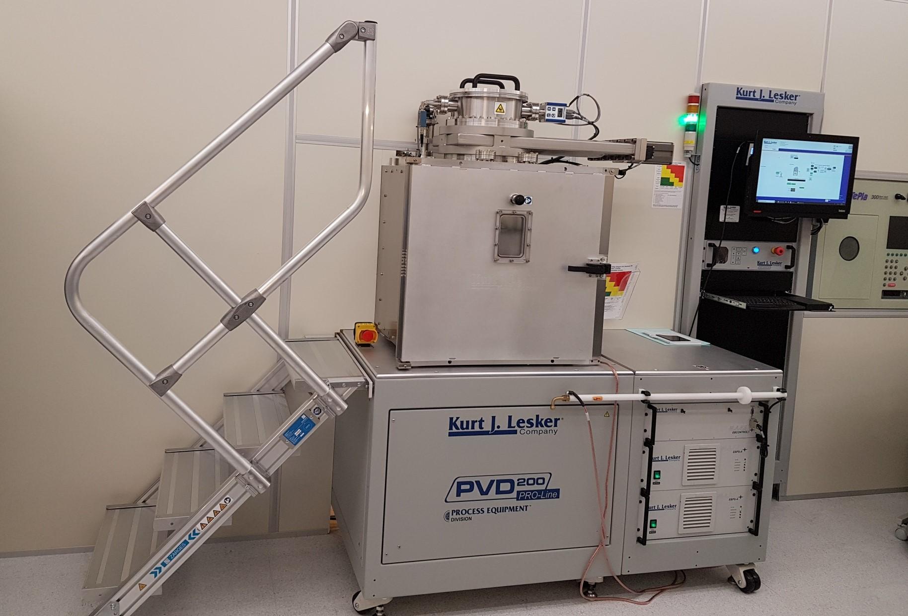 Picture of E Beam Evaporator - K.J. Lesker