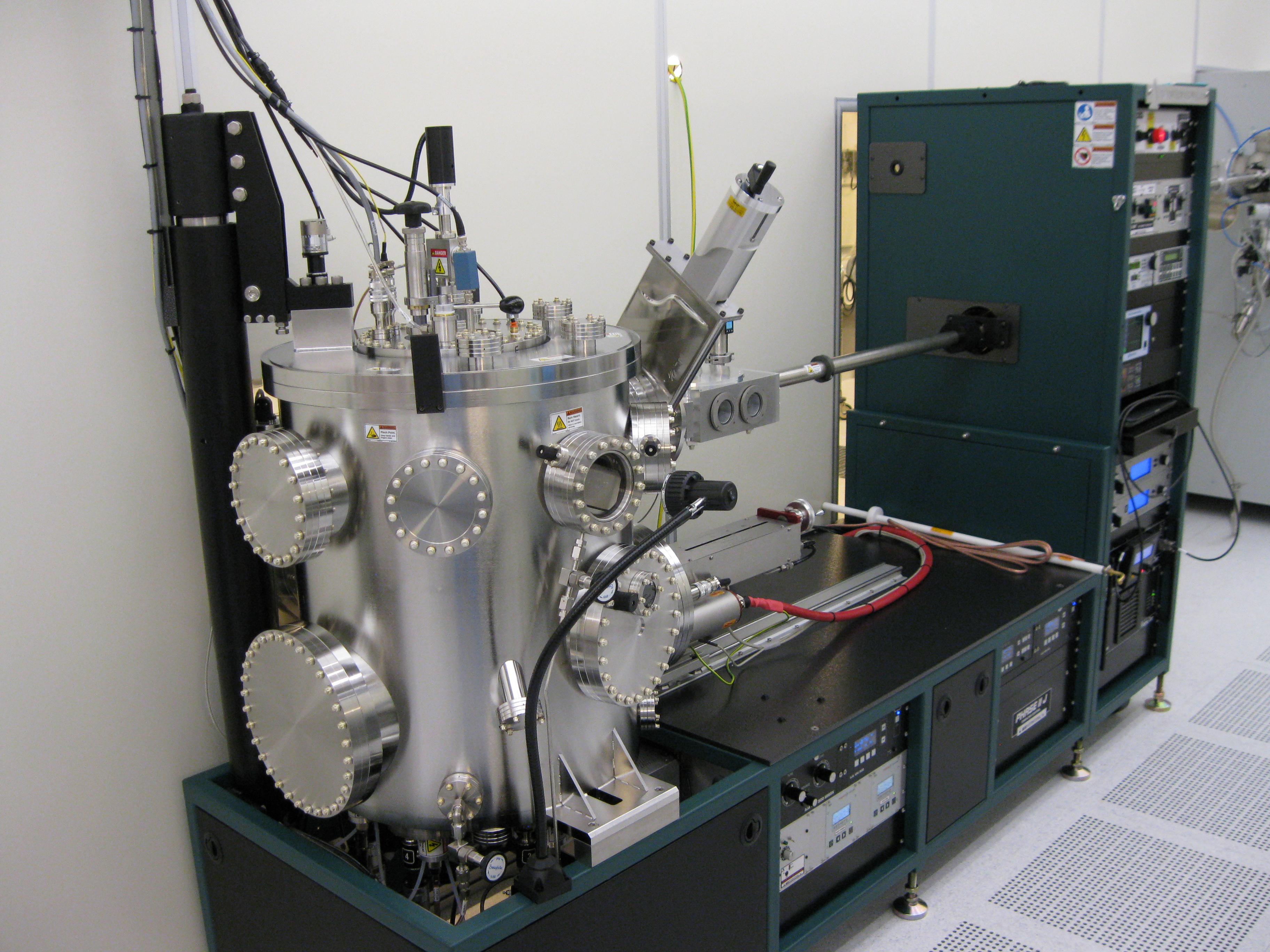 Picture of E Beam evaporator & Sputter AJA