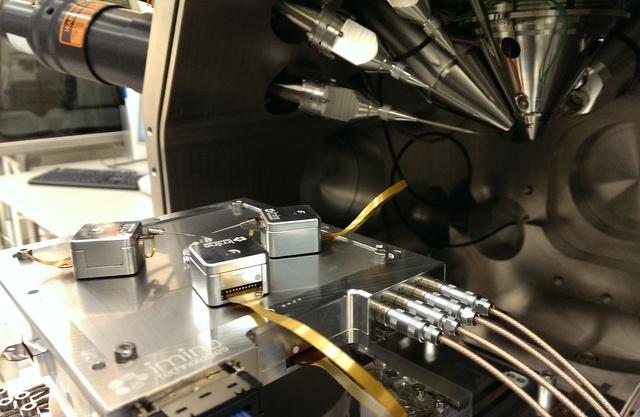 Picture of MiBots (micromanipulators)