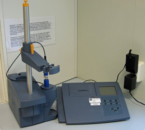 Picture of pH-meter